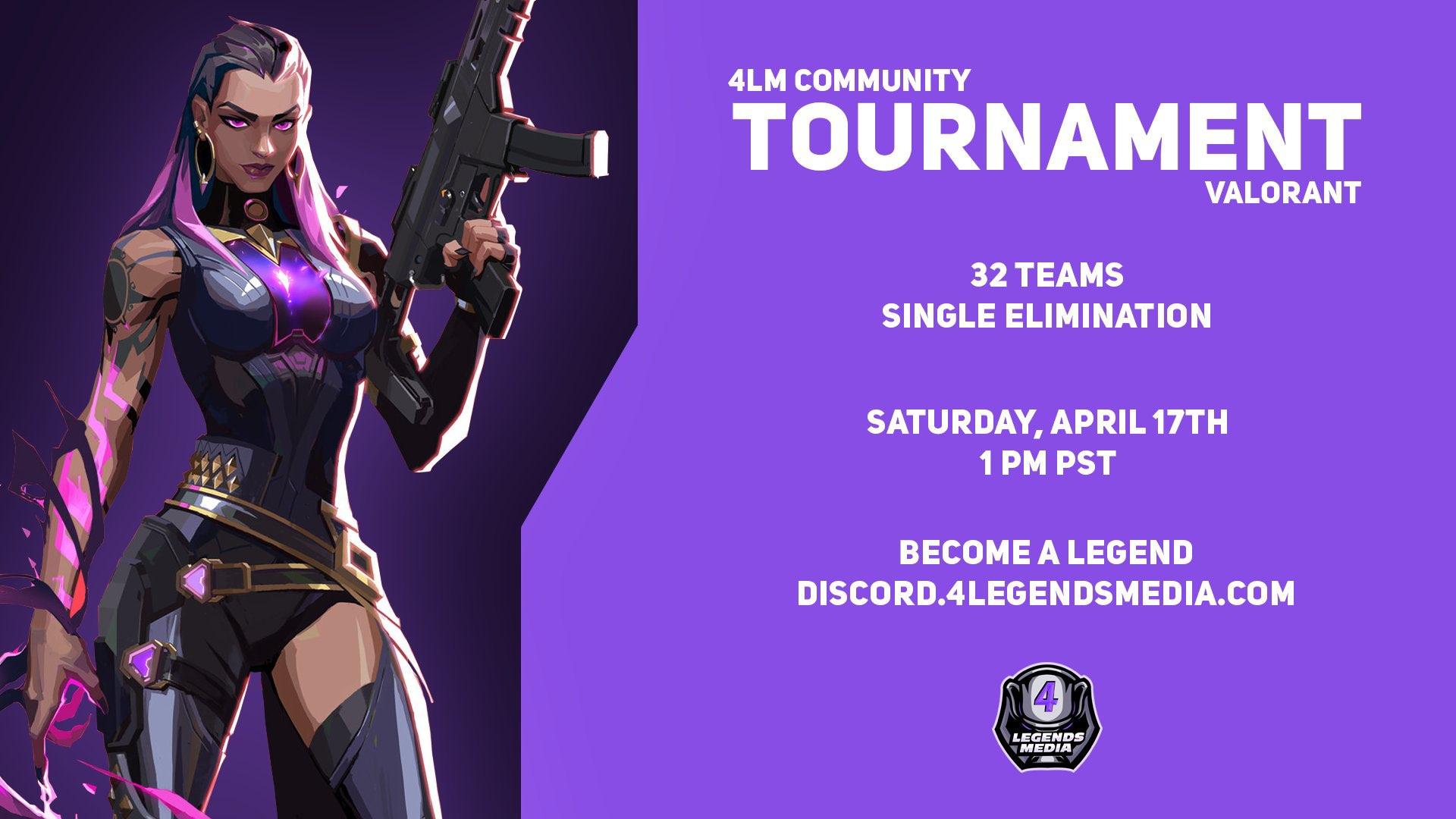 The next 4LM Valorant Tournament