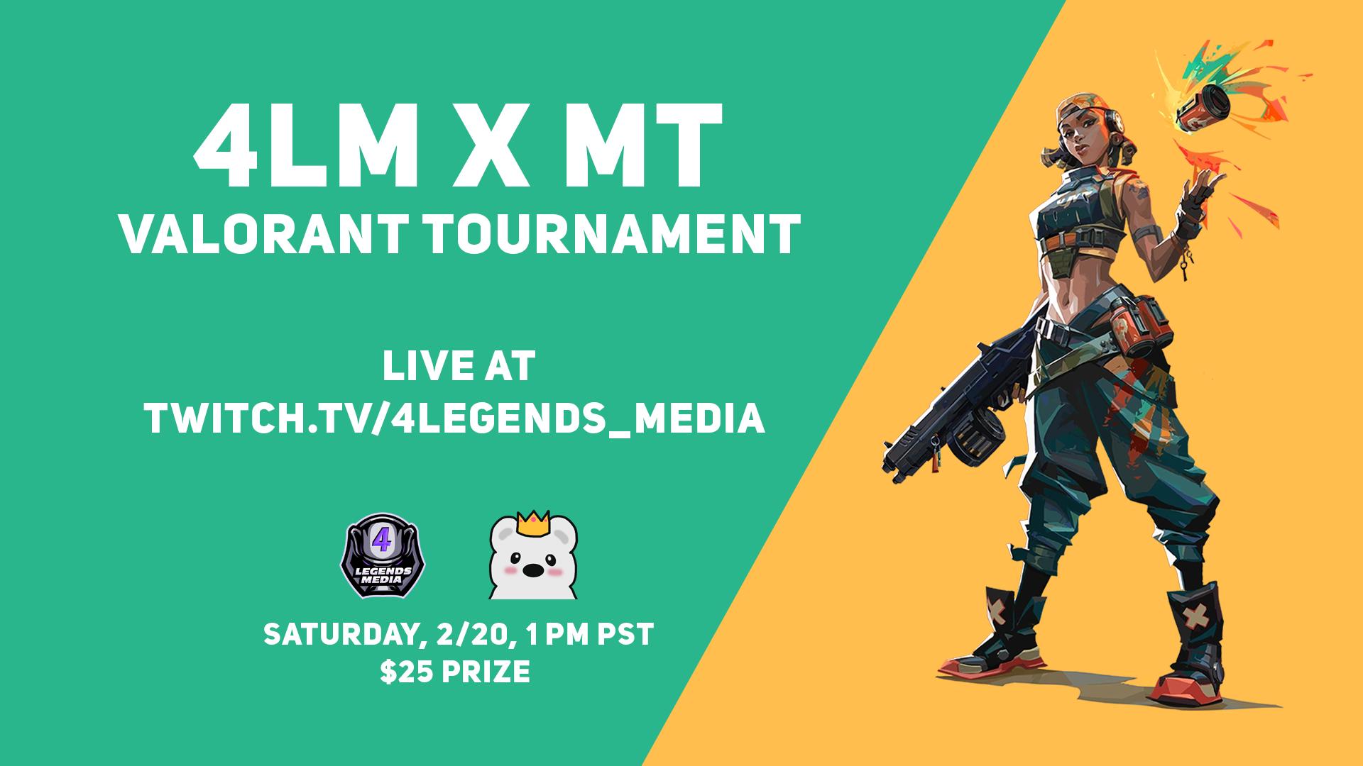 Announcing the 4LM x MT Valorant Tournament
