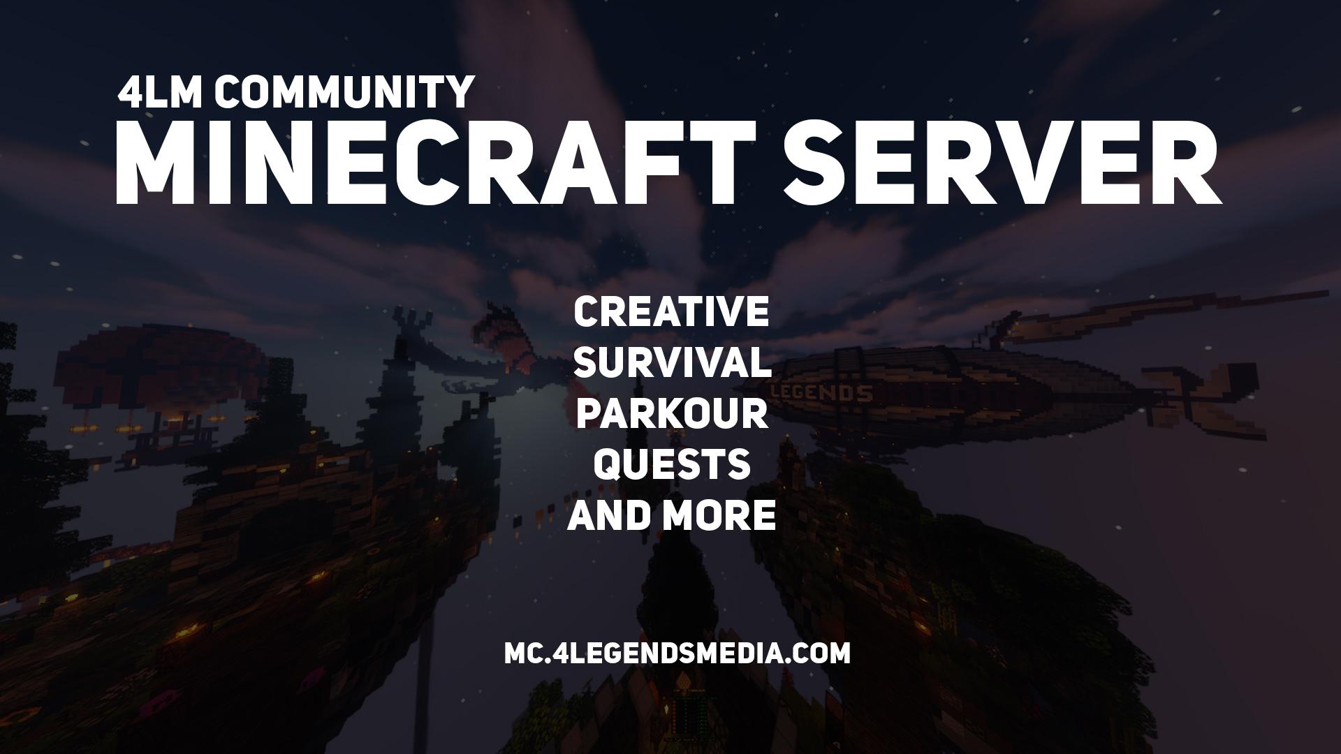 4LM Community MC Server is BACK!