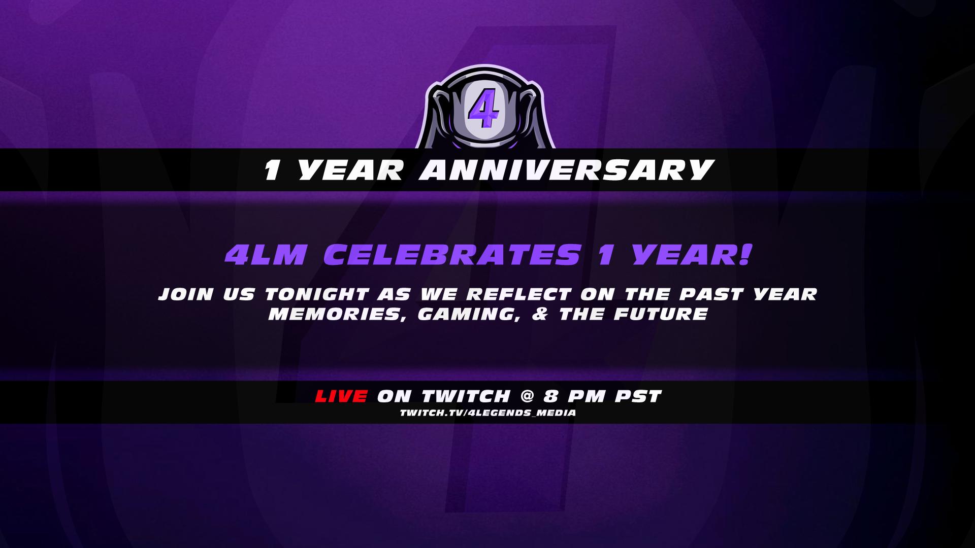 4LM Celebrates ONE Year!