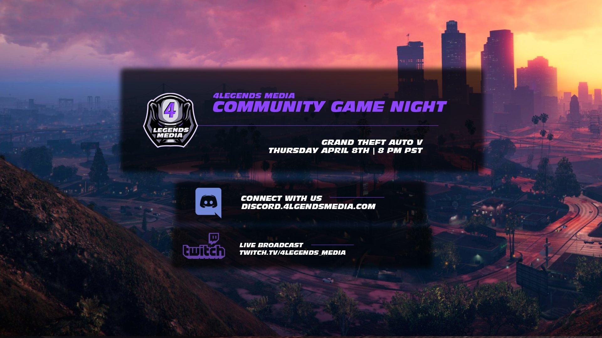 4LM GTA V Community Game Night