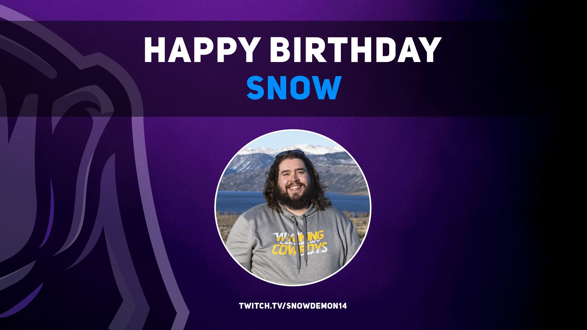 Happy Birthday Snow!